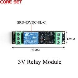1 канал DC 3V реле высокого уровня драйвер модульный оптрон реле изолированный модуль управления приводом плата для Arduino