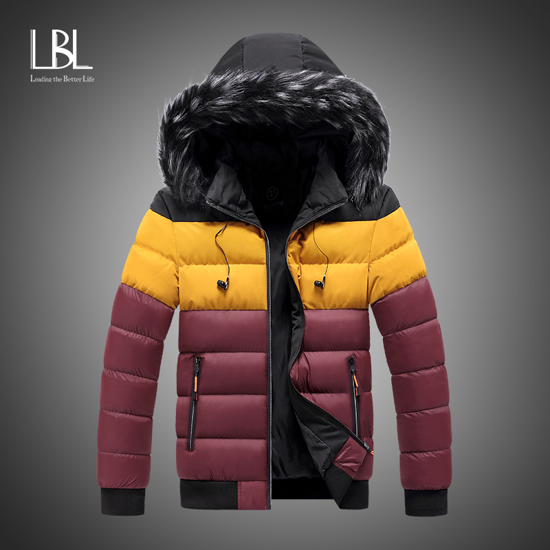 Winter Parkas Hombre Men's Jacket 2020 New Cotton Padded Puffer Jackets Men Fashion Tops Zipper Up Outerwear Coats Bomber Jacket