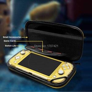 Image 3 - Nowa torba na NintendoSwitch Lite twarda obudowa ochronna torba podróżna na konsolę i akcesoria Nintendo Switch Lite