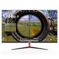Johnwill 23,8 pulgadas 144 HZ Gaming Monitor 1920x1080P LCD Monitor IPS Monitor VGA/HDMI interfaz para PC PS4 pantalla de juego