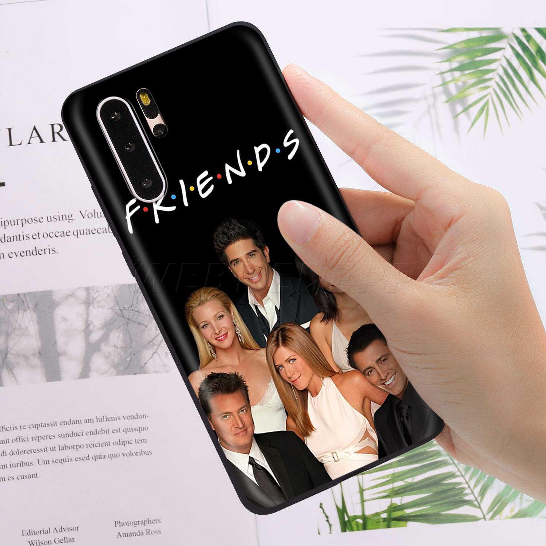 Webbedepp フレンズテレビケース Huawei 社の名誉 6A 7A 7C 7 × 8 8X 8C 9 9 × 10 20 lite プロノート表示