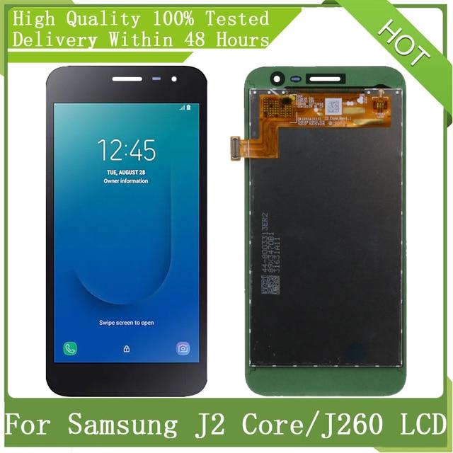 شاشة LCD تعمل باللمس مع حزمة خدمة ، لهاتف Samsung Galaxy 5 ، جديد Amoled J2 Core J260 J260M J260F J260G