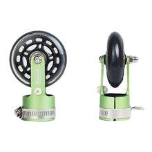 Портативный складной велосипед вспомогательный роликовые колеса