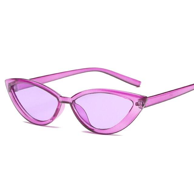 Lunettes de soleil à petit oeil   Lunettes de soleil pour chat, lunettes solaires pour femmes 90s adorables lunettes de soleil Design pour maître