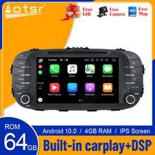 Para KIA Soul 2014 - 2017 Android 10 HD reproductor de DVD Multimedia 4G 64GB Auto GPS navegador estéreo Radio unidad principal DSP Carplay