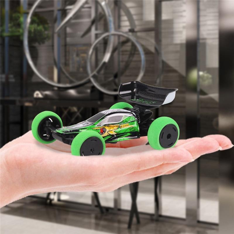 mini duble rc carro 1 32 2 4g 4ch radio truque de controle remoto carro com
