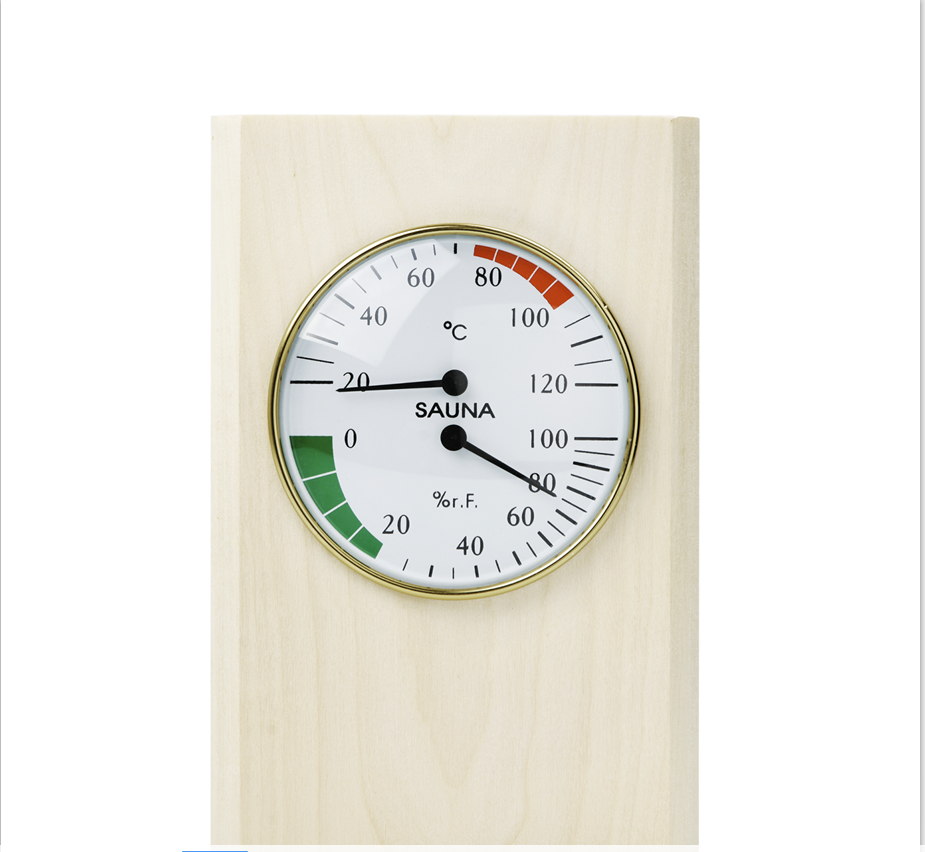 Free Shipping Nodric Finished Sauna Thermometer And Hygrometer Sauna Pail And Ladle For Sauna Room