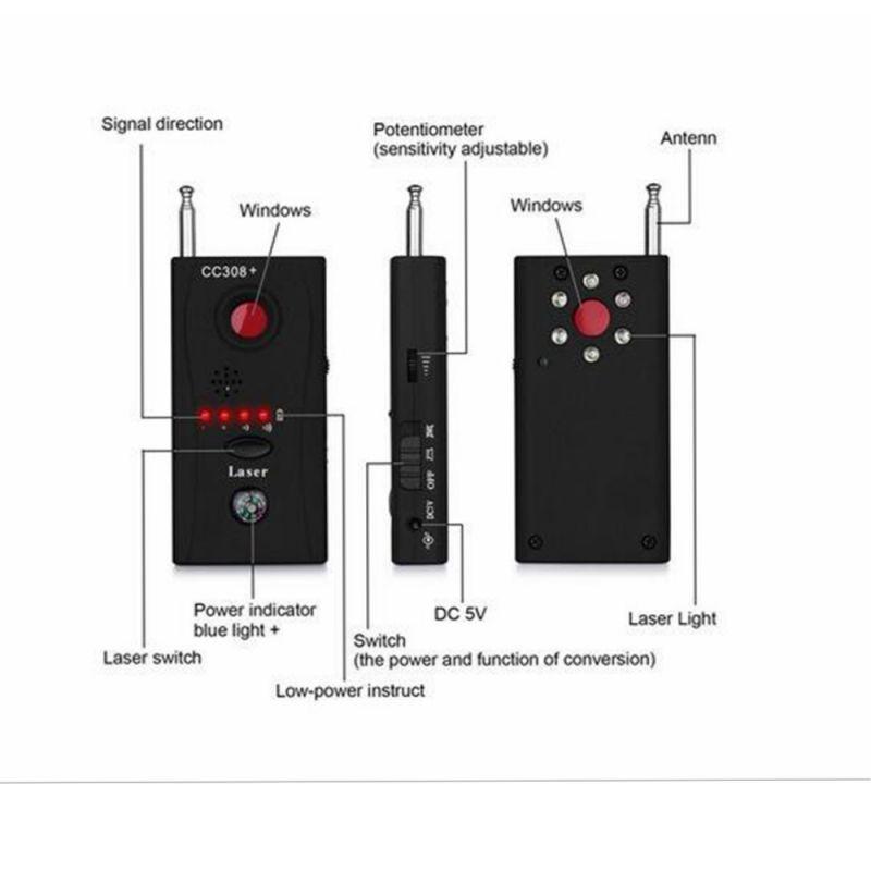 detector sem fio do sinal rf 04
