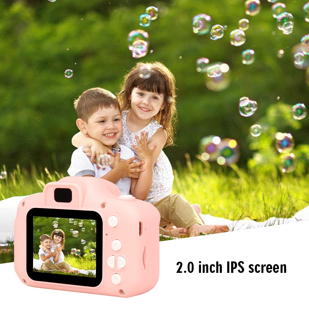 New Arrive  Cheap Rechargeable Photo Video Playback Cameras Kids Toy For Girl 32GB Mini Children's Camera Child Birthday Present 20