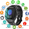 2021 Luxury military sport Men's Smart watch Men Full screen touch Blood pressure Heart rate monitor Bluetooth call smartwatch