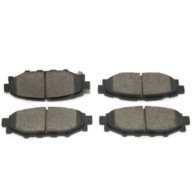 AKEBONO pads brake disc rear FIT FOR SUBARU FORESTER, IMPREZA, LEGACY, OUTBACK AN-696WK