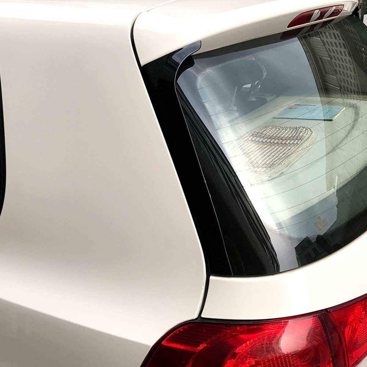 2 PCS/lot voiture côté Spoiler autocollants revêtement d'habillage Accessoires Auto style pour VW Golf 6 MK6 2008-2013 pas adapté pour Golf 6 GTI/R!!!