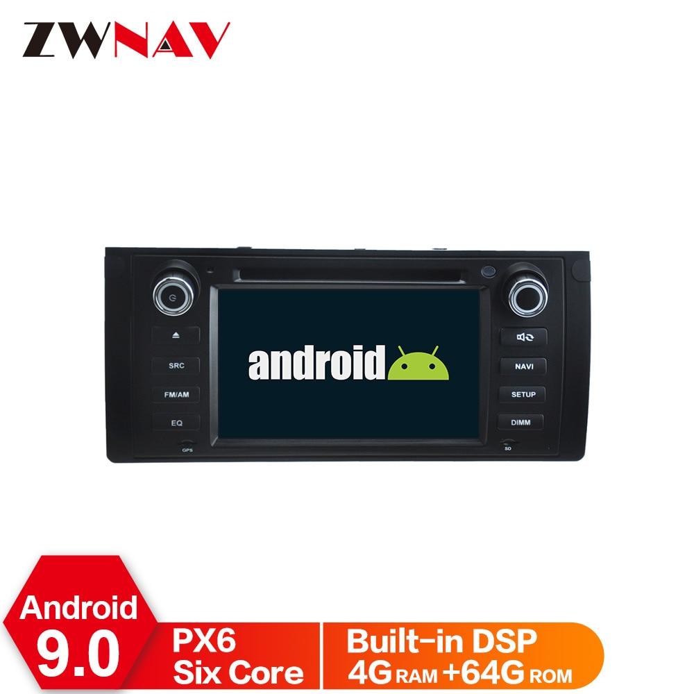 Android 10 Autoradio 7 Zoll HD MP5 GPS Navi WIFI Bluetooth 2 DIN DAB 4Core DSP