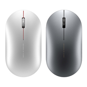 Image 2 - Original Xiaomi Fashion Mouse Portable Wireless Game Mouse 1000dpi 2.4GHz Bluetooth link Optical Mouse Mini Portable Metal Mouse