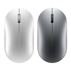 Image 2 - מקורי Xiaomi אופנה עכבר נייד אלחוטי משחק עכבר 1000dpi 2.4GHz Bluetooth קישור אופטי עכבר מיני נייד מתכת עכבר