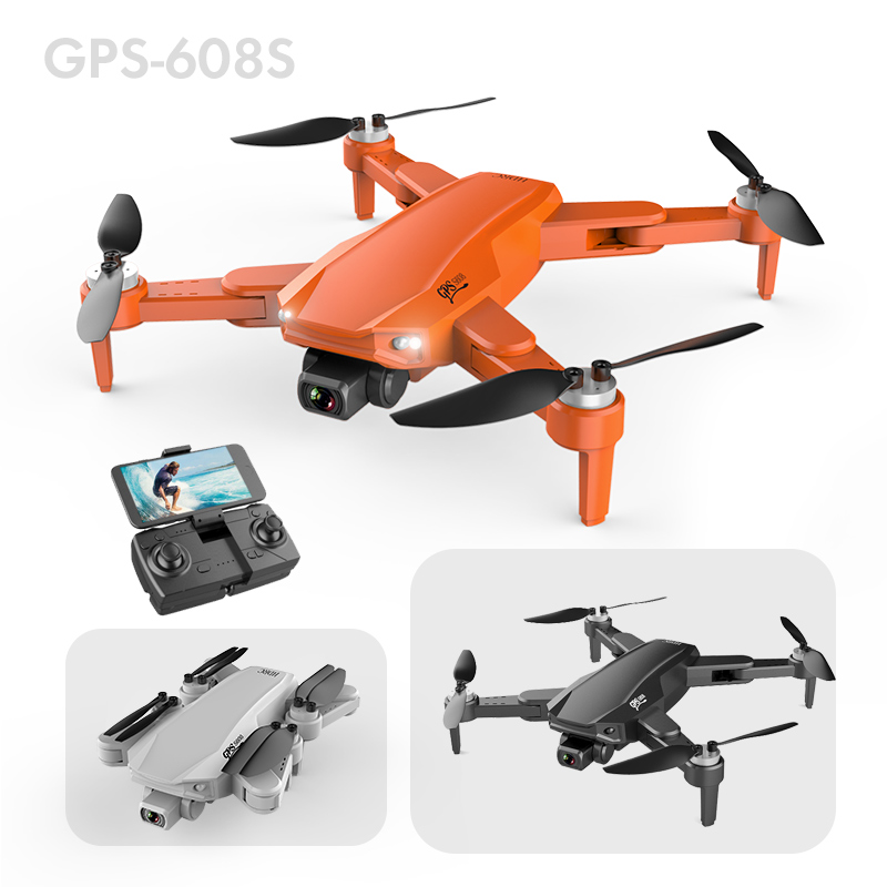 XYRC S608 Pro GPS Drone 4k Profesional 6K HD Dual Camera Aerial Photography Brushless Foldable Quadcopter RC Distance 3KM 5