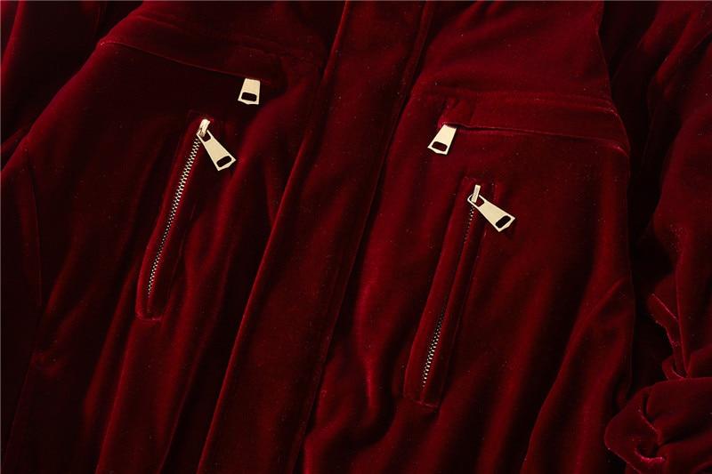Automne hiver hommes épais chaud en vrac velours flanelle bomber veste Streetwear haute qualité homme surdimensionné décontracté manteaux pour vêtements de dessus - 6