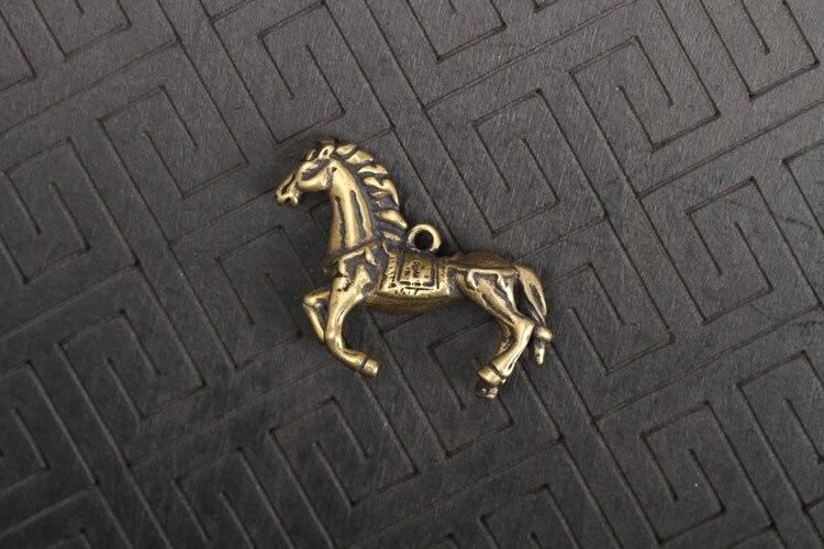 Copper Running Horse Miniatures Figurines  (14)