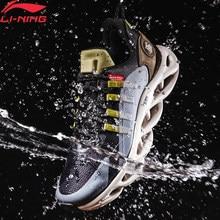 Li-ning homem ln arco almofada tênis de corrida wearable forro impermeável li ning casca de água sapatos esportivos tênis arhp245