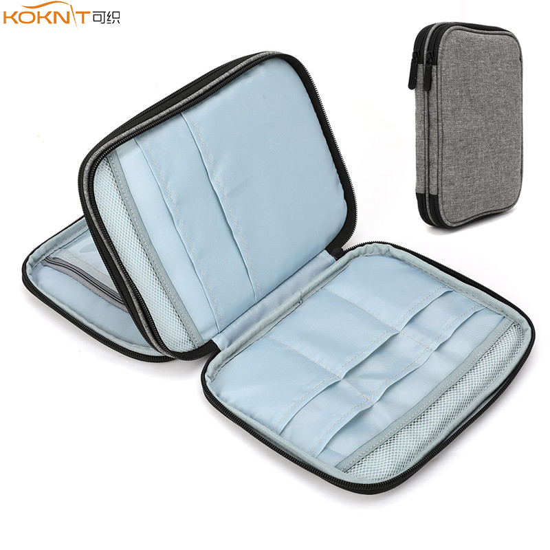 KOKNIT Empty Knitting Needles Case Travel Storage Organizer Storage Bag For Circular Knitting Needles And Other Accessories