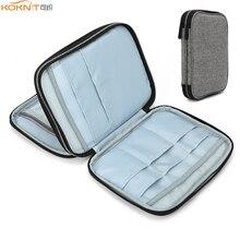 KOKNIT estuche vacío para agujas de tejer, organizador de almacenamiento de viaje, bolsa de almacenamiento para agujas de tejer circulares y otros accesorios