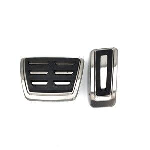 Image 4 - Stainless Steel Pedal For VW GOLF 7 GTi MK7 Lamando POLO A05 Passat B8 Skoda Rapid Octavia 5E 5F A7 2014+ Car Accessories