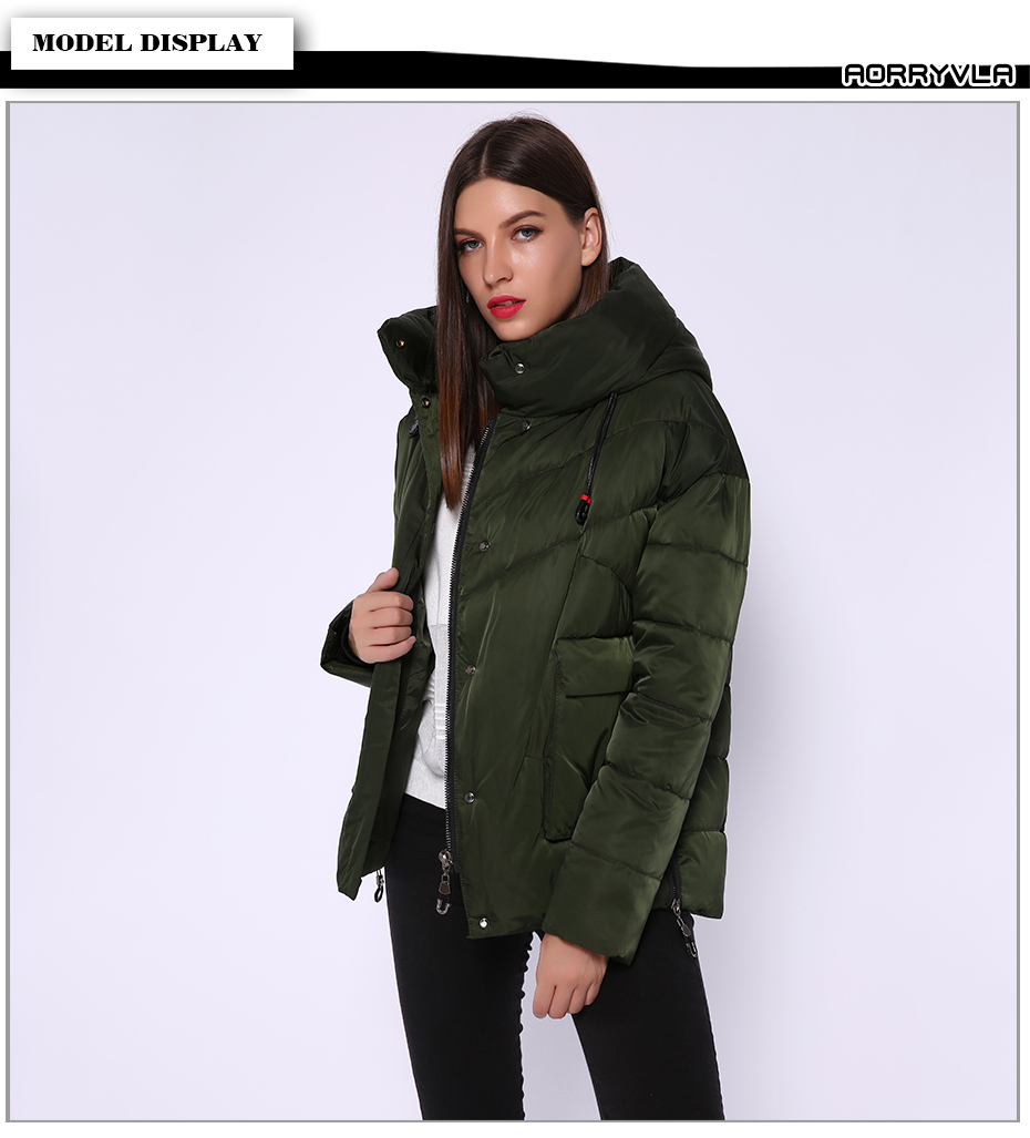 Women's Thick Winter Down Jacket 9
