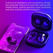 TAOCHIPLE S6 TWS سماعات لاسلكية الرياضة سماعات الأذن الأذن بلوتوث 5.0 سماعة سماعة للهاتف شاومي سامسونج هواوي
