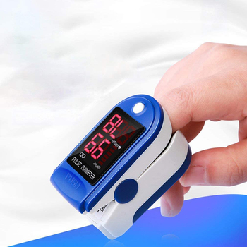 LED cyfrowy palca pulsoksymetr pulsoksymetr palec Oximetro Monitor domu miernik palca pulsometr opieki zdrowotnej tanie i dobre opinie VKTECH CN (pochodzenie) Blood Oximeter 2 AAA batteries blue white Finger Oximetry