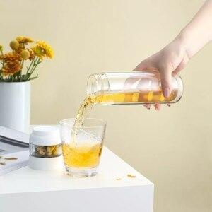 Image 4 - Youpin ทั้งหมดคู่ชั้นแยกถ้วยชาสีขาวดื่มน้ำครอบครัว Tritan วัสดุสำหรับสำนักงานสีชมพู