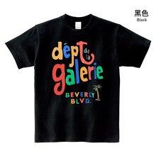 La nuova T-shirt a maniche corte comoda e alla moda in cotone girocollo stampata in stile new trend couple
