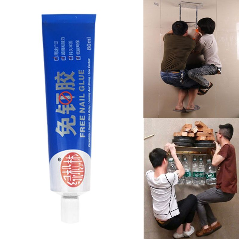 80ml Strong Sticky Glue Silane Polymer Metal Ceramic Tile Wood Glass Adhesive Sealant Fix Stationery Jewelry Repair