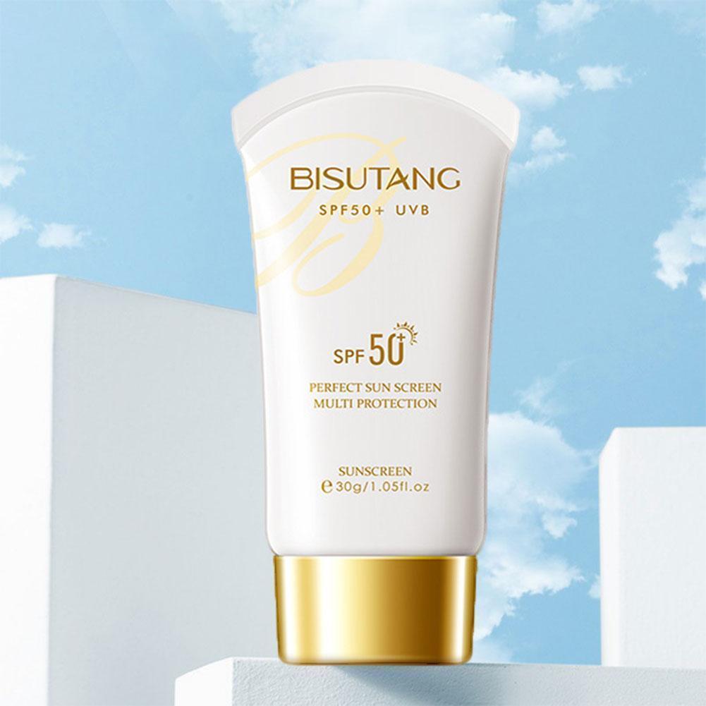 Sunscreen Moisturizing Skin Care Anti Aging Nude Sun Control Refreshing Concealer Screen Makeup Oil Body G3T6