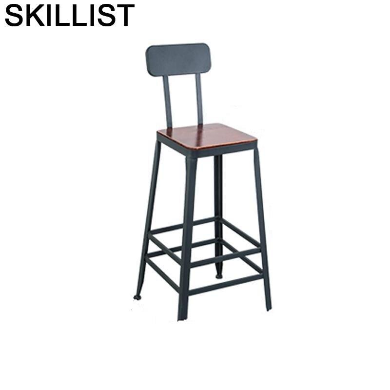 Todos Tipos Comptoir Stoelen Stoel Fauteuil Sandalyesi Taburete La Barra Stool Modern Cadeira Tabouret De Moderne Bar Chair