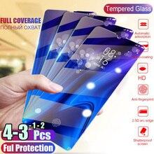 1/2/3/4 個強化ガラス huawei 社の名誉 10i 20 pro のスクリーンプロテクター保護ガラス名誉 10 9 20 lite 8 s 8A 9X 8X ガラス