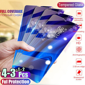 1/2/3/4Pcs Tempered Glass For Huawei Honor 10i 20 Pro Screen Protector Protective Glass For Honor 10 9 20 Lite 8S 8A 9X 8X Glass(China)