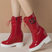 Модные кроссовки на шнуровке; Женские ботильоны из натуральной