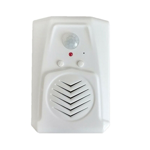 Sensor de movimento campainha da porta interruptor mp3 infravermelho sem fio pir sensor de movimento voz prompter bem-vindo campainha da porta entrada alarme