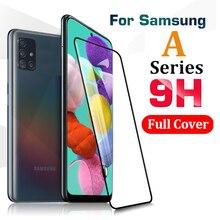 Protecteur d'écran, en verre trempé 9H, pour Samsung Galaxy A21 s A20 e A51 A50 A20E M21 A21S A50 20 S M 21 M 31