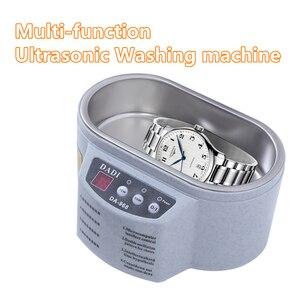 Limpiador ultrasónico multifunción para joyería y gafas, Máquina Inteligente con circuito para limpieza, Baño