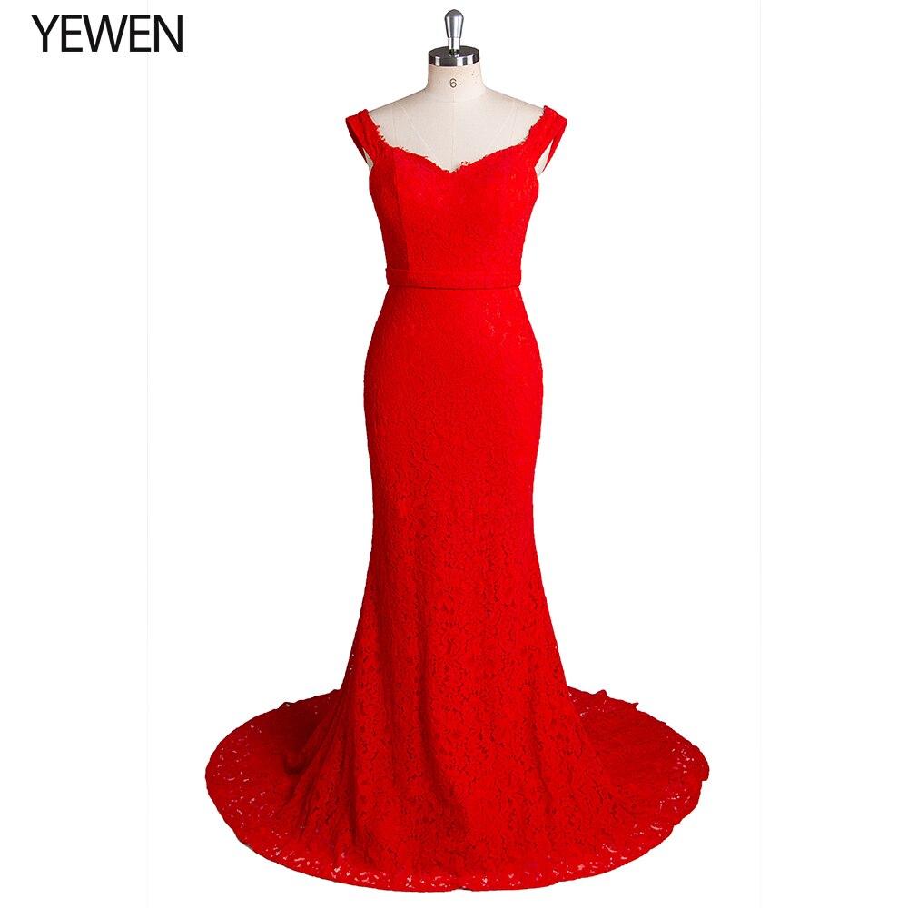 Красные вечерние платья стрейч Асимметричный двойной милая без рукавов сексуальное вечернее платье из шифона Русалка Вечерние платья на