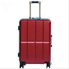 Aluminum Frame Luggage Hardside Rolling Trolley Bag Luggage travel Suitcase 20 Carry on Luggage 20 24 Inch Checked Wheels Bags cheap CN(Origin) 5 5 kg 36 CM Hardside Luggage 25 CM Spinner Baggage Unisex