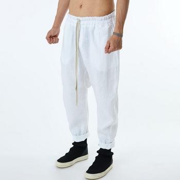 Spodnie dresowe męskie spodnie dresowe do biegania męski Hip Hop spodnie do kostek spodnie z wysokim stanem Streetwear spodnie dresowe Hippie tanie i dobre opinie Spodnie do biegania CHINA Troczek Mieszkanie Pełna długość POLIESTER LUŹNE NONE men Hip Hop pants średniej wielkości