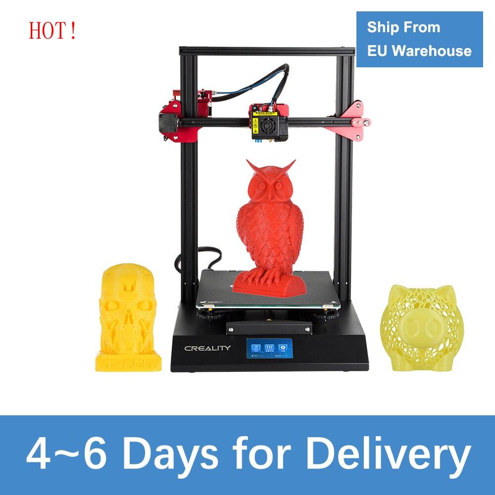 Imprimante 3D CREALITY CR-10S Pro mise à niveau automatique nivellement bricolage Kit d'auto-assemblage 300*300*400mm grande taille d'impression écran tactile LCD