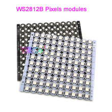 100 Pieces WS2812B WS2812 LED Chip & Heatsink 5V 5050 RGB WS2811 IC Ingebouwde Pixels modules