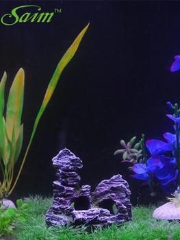 Rockery Aquarium Mountain Rock Cave Bridge Decoration Fish Tank Landscape  2