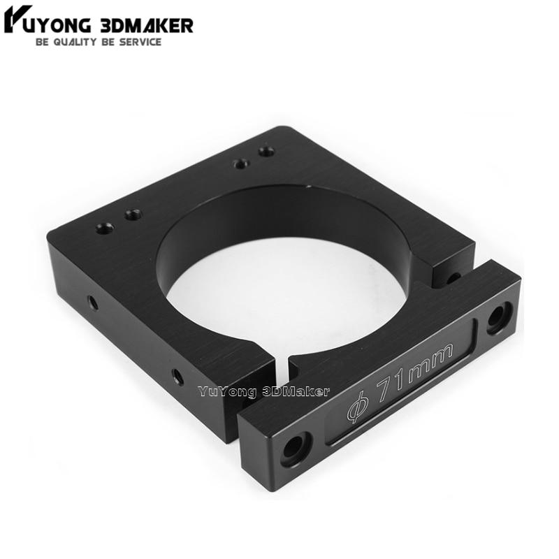 Alta qualidade forte Router/Montagem Do Eixo Diâmetro 52mm 65mm 71mm 80mm para Workbee BOI CNC máquina Router