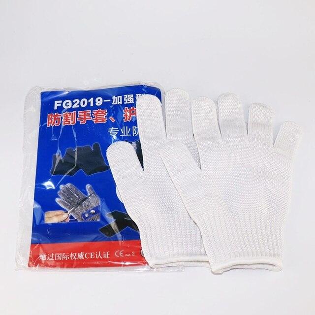 Rękawice odporne na cięcia poziom 5 ochrona antypoślizgowa antypoślizgowa piła łańcuchowa Safty robocze rękawice kuchenne