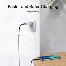 QGeeM MFi USB C to Lightning iPhone Charger Cable for iPhone 12 mini Pro Max 11 X XS 8 7 PD Fast Charging Data Cable for Macbook