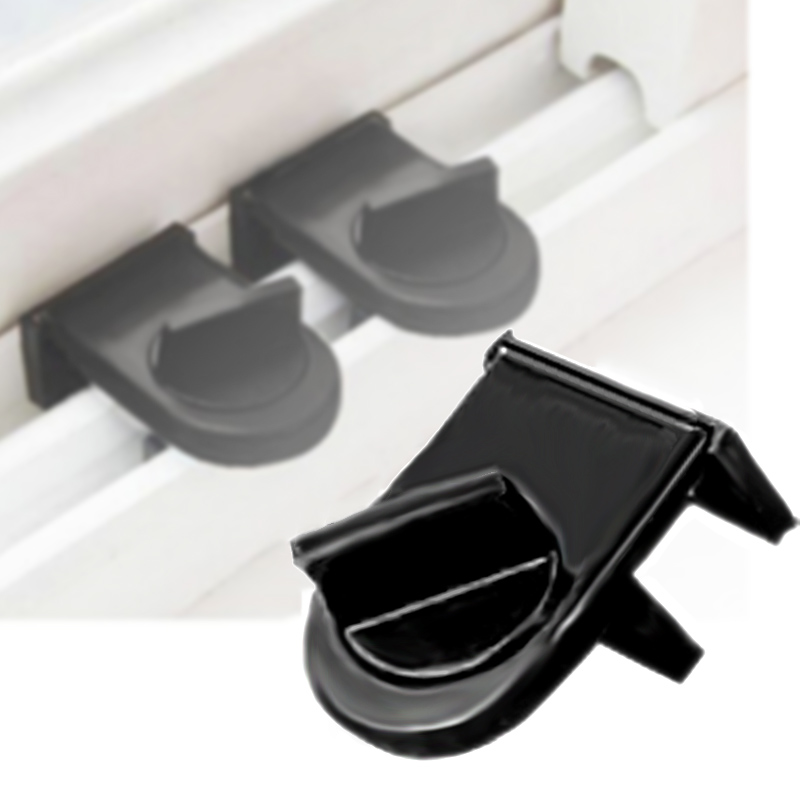 1x Security Sliding Stopper Door Window Safety Sash Lock Restrictor Catch Tool